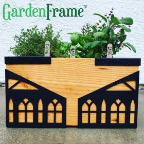 Sign up for early bird pricing for the GardenFrame! gardening organic diy design herbs