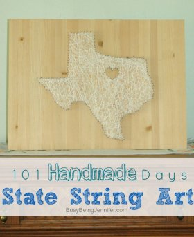 Show off your State Pride with some DIY String Art! >> statepride
