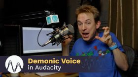 Want your voice to sound demonic? Learn howto with Audacity in this tutorial
