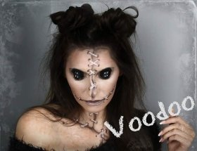 My first Halloween tutorial this year has had over 2k views!!!! bbloggers makeup