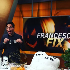 Under 5mins & 5dollars! Halloween diy decor via| NBCNewYork