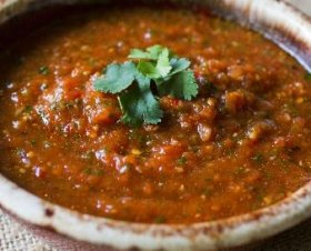 Chipotle-Chile Salsa