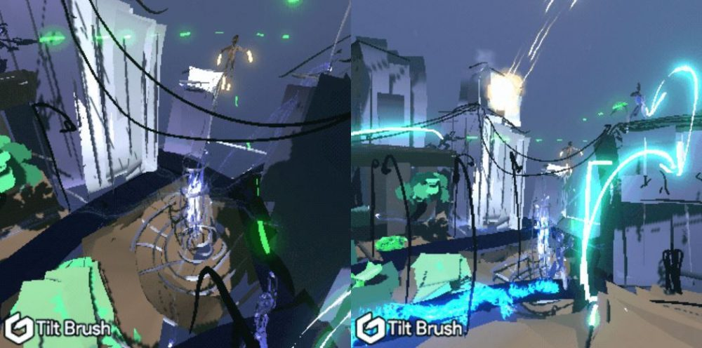 'Tilt Brush' Used to Prototype Levels in This Superhero #VR Game for Vive