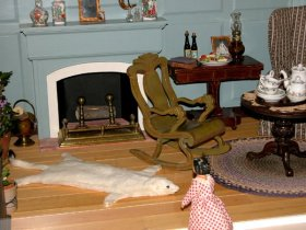 Tasha Tudor's Dollhouse Dollhouse Miniature Crafts