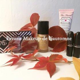 Je vous prsente mes Favoris Makeup de cet Automne beaute fall makeupgeek
