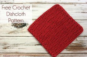 Free Crochet Dishcloth Pattern crafts crochet DIY