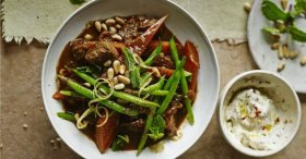 Moroccan Beef Stew Recipe by Madeleine Shaw -