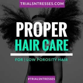 Proper Hair Care Routine For Low Porosity Hair HairCare HairGoals Beauty Fashion