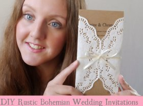 Check out my DIY Rustic Bohemian weddinginvites tutorial diywedding weddinghour bride