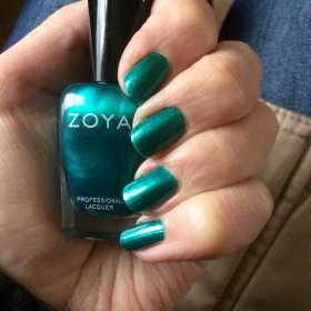Zoya Nail Polish in 'Giovanna' crueltyfreenailpolish crueltyfreebeauty NOTD bbloggers