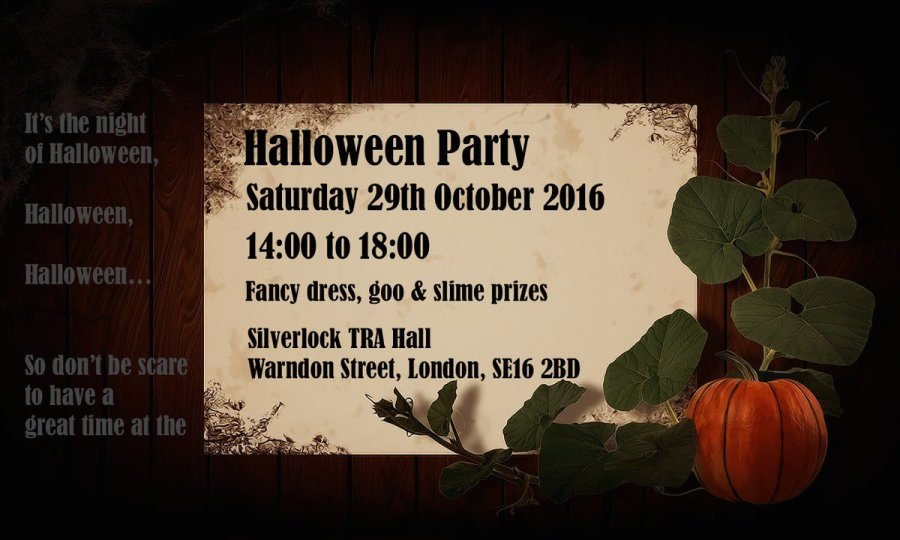 Silverlock Halloween Party
