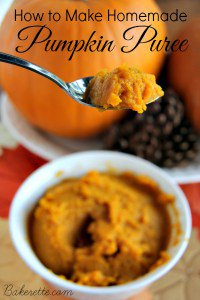 Carving pumpkins? Save the indsides & make pumpkinpuree! DIY tasty