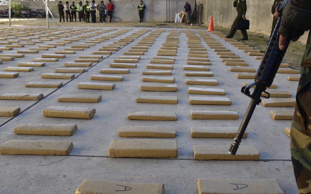 Keeping Busy. Special Forces Seize 8 Metric Tons of Marijuana in Bolivia.