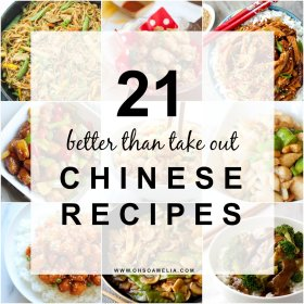 Like Chinese Food? Here are 21 better than take out Chinese recipes!