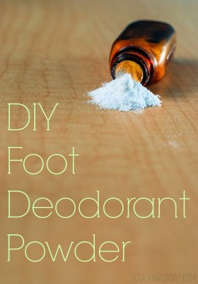 DIY Deodorant And Foot Powder