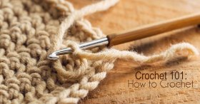 Crochet 101: How to Crochet crochet DIY crafts