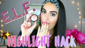 Late night video upload on my channel! elfcosmetics Highlighter Hack!! bbloggers