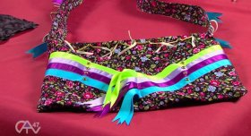 Making Regalia: Ladies Bag - Make your own! powwows crafts