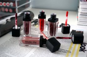 New: Matte Me lip collection review + giveaway bbloggers FemaleBloggerRT