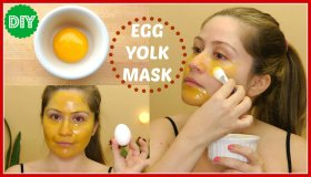 3 Egg Yolk Face Mask Recipes for Glowing Skin , skincare