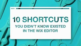 Here's how to save some time during your next website editing sesh: shortcuts DIY