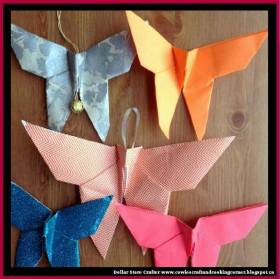 Origami Christmas OrnamentLINK>>christmas crafts christmascrafts diyornaments