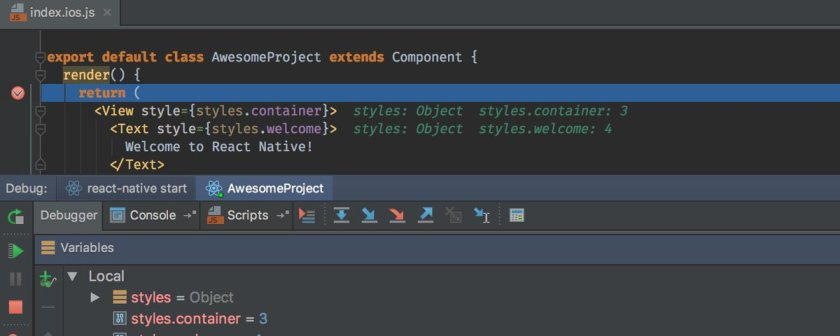 A new IntelliJ IDEA 2016.3 EAP build is out, along with React Native debugger. Learn more: