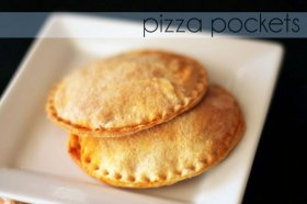 Everyone can make their own pizza pocket!