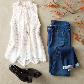 The perfect transition pieces for cooler days. OOTD BelkStyle