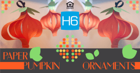 Check out these Pumpkin Ornaments for halloween! H6 Halloween Ideas DIY Crafts