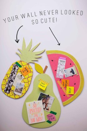 DIY FRUIT BULLETIN BOARDS - Crafts DiyIdeas