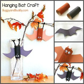 Fun Halloween crafts for kids.Halloween DIY kids