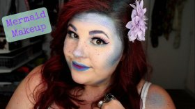 mermaid makeup halloween halloween2016