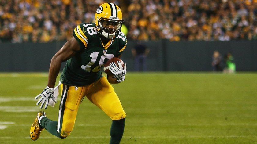 Packers WR Randall Cobb reportedly won't play today against the Falcons.