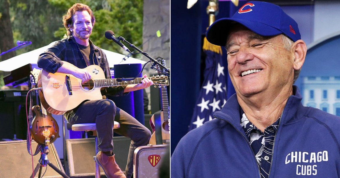 See Eddie Vedder and Bill Murray sing the Band's