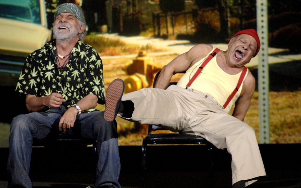 Exclusive: The one and only @tommychong talks new comedy tour, his marijuana motto & more!