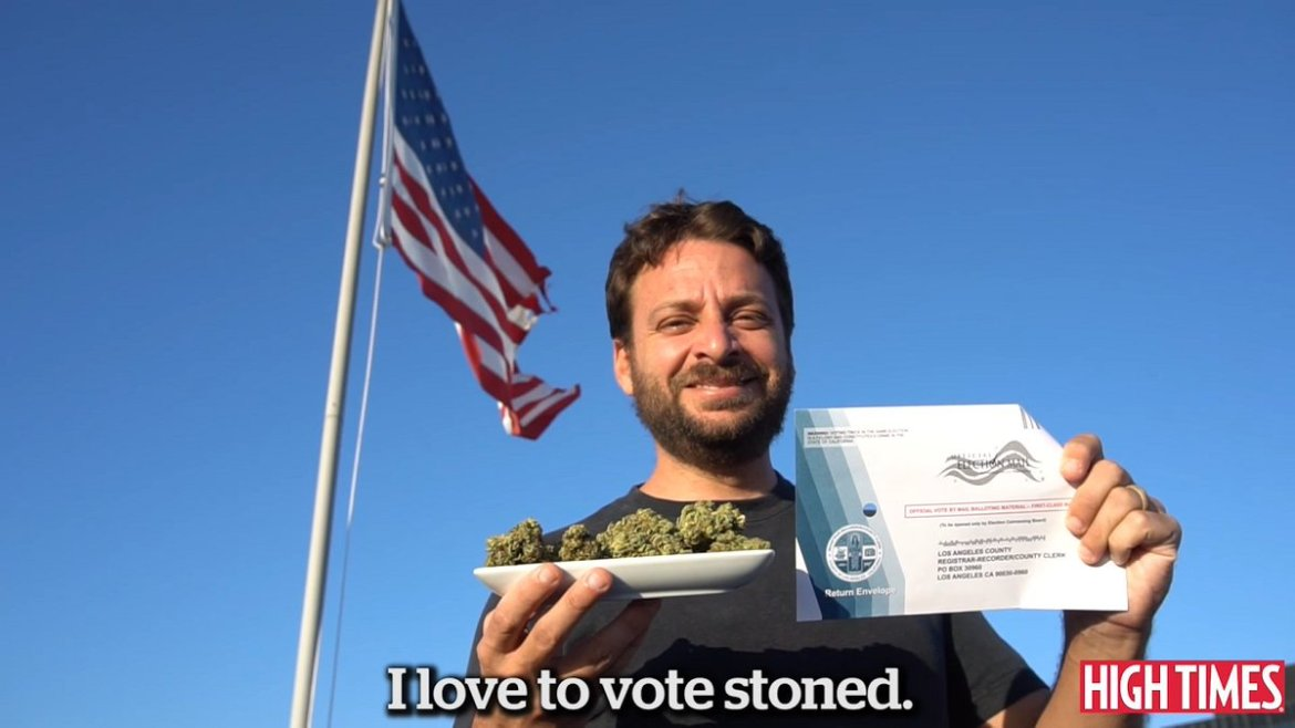 #Watch: Roll to the Polls 2016 (HIGH TIMES Voting PSA). Get Out There on Tuesday!