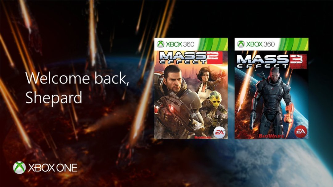 Mass Effect 2 and Mass Effect 3 Are Now Xbox One Backward Compatible 1