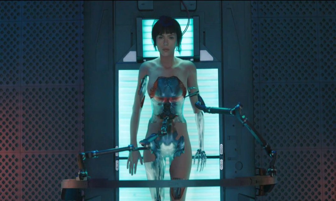 Ghost in the Shell Trailer And Poster Revealed 1