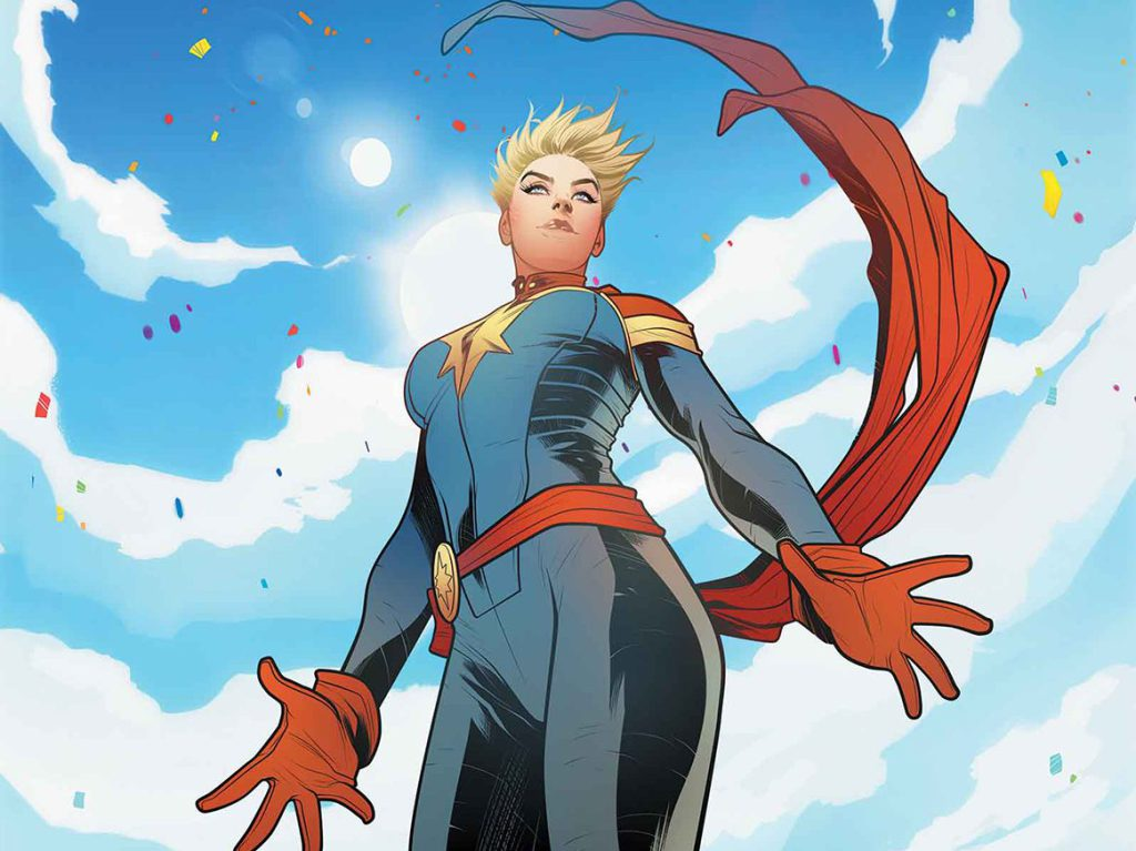 Kevin Feige Discusses Captain Marvel's Powers And Casting Brie Larson 4