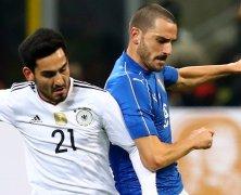 Video: Italia vs Đức
