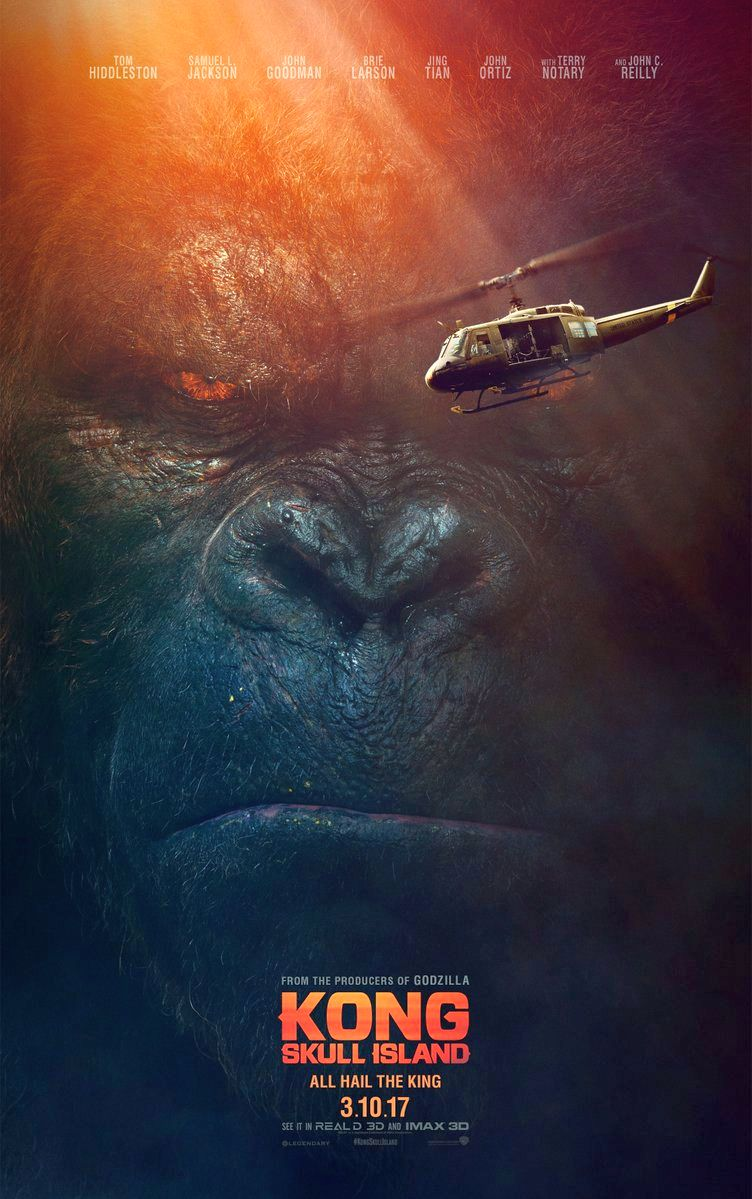 Kong: Skull Island Posters Unveiled