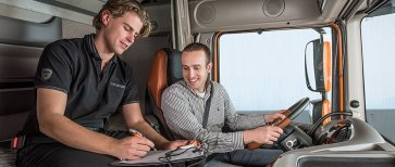 Image result for young people truckers
