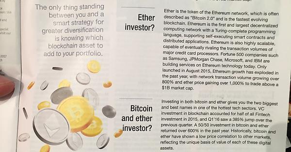 Full page Kraken ad in this week's Economist magazine  #Bitcoin