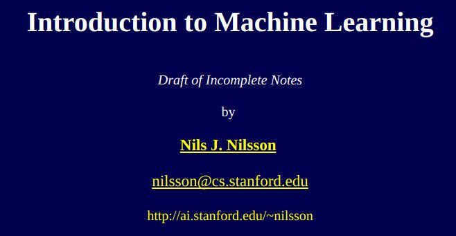#ICYMI 5 #MachineLearning EBooks