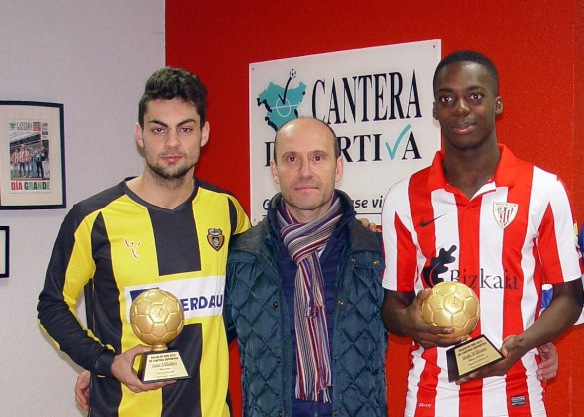 """Inside Athletic on Twitter: """"Asier Villalibre and Inaki Williams back when they won the golden boots for Basconia and Bilbao Athletic. Today in the first team. #Lezama… https://t.co/CpGFRX1b2V"""""""