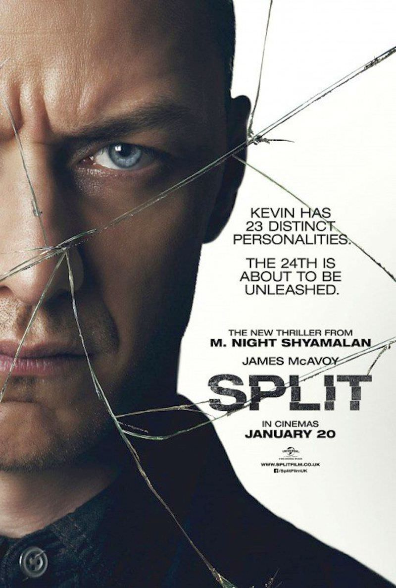 New Split Poster Featuring James McAvoy Revealed