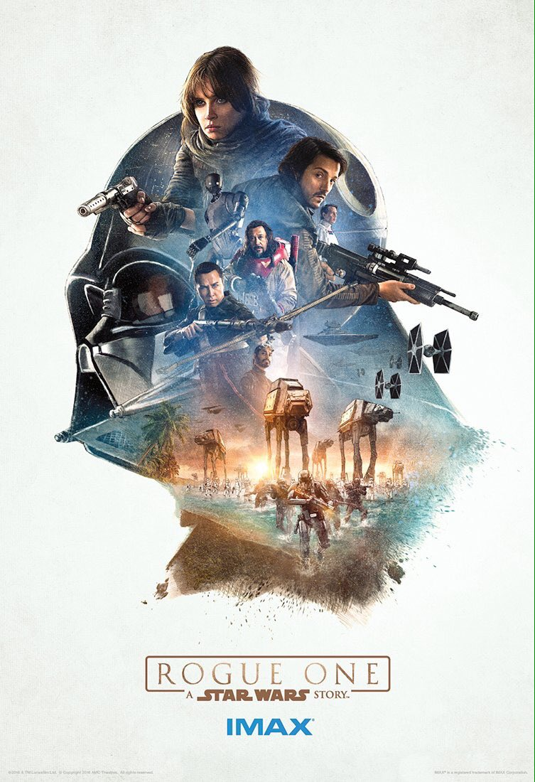 Rogue One: A Star Wars Story IMAX Posters Revealed