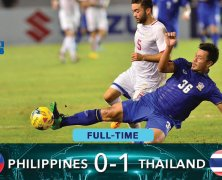 Video: Philippines vs Thái Lan