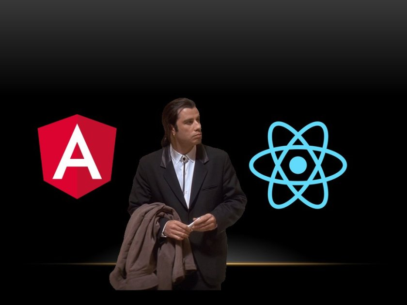 When choose {React or Angular 2}  #reactjs